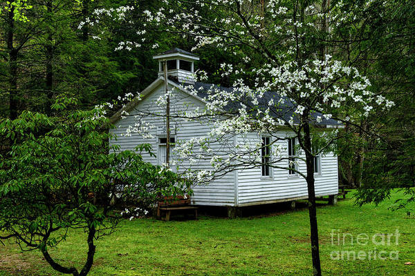Photograph - Windy Gap School by Thomas R Fletcher