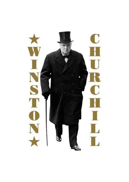 Blenheim Digital Art - Winston Churchill by David Richardson