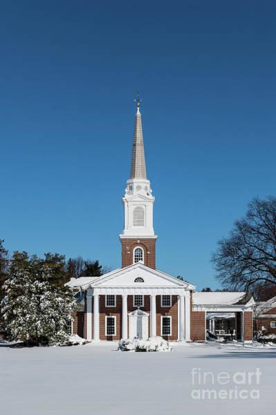 Wall Art - Photograph - Winter Church by John Greim