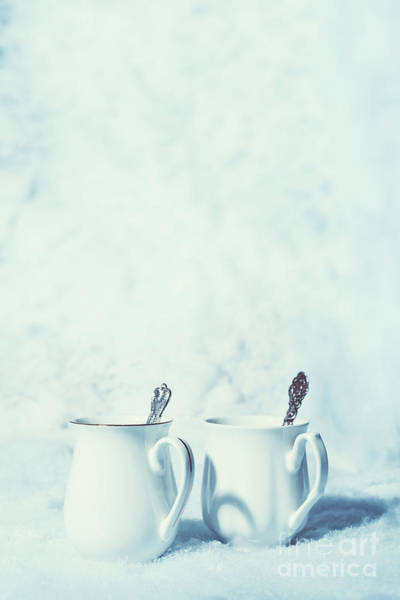 Wall Art - Photograph - Winter Drinks In Snow by Amanda Elwell