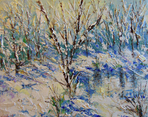 Painting - Winter by Frederic Payet