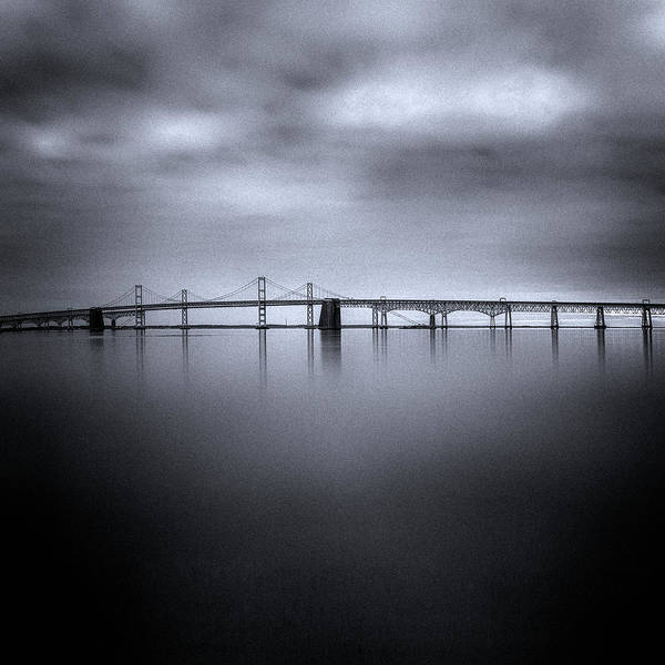 Chesapeake Bay Photograph - Winter Morning by Robert Fawcett