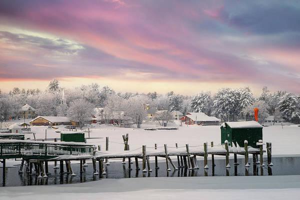 Photograph - Winter On The Causeway by Darylann Leonard Photography
