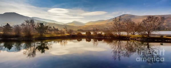 Wall Art - Photograph - Winter Reflections by Adrian Evans