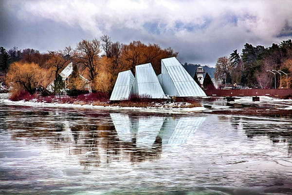 Photograph - Winter Reflections by Tatiana Travelways