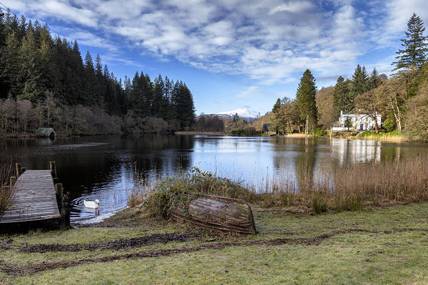 Photograph - Winter Scenery In Scotland by Jeremy Lavender Photography