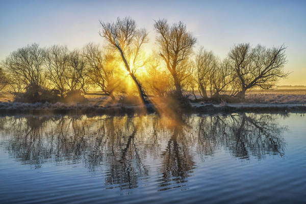 Photograph - Winter Sunrise Over The Ouse by James Billings
