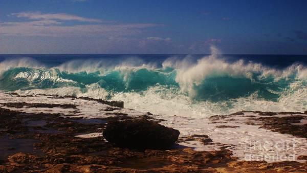 Kaena Photograph - Winter Waves by Craig Wood