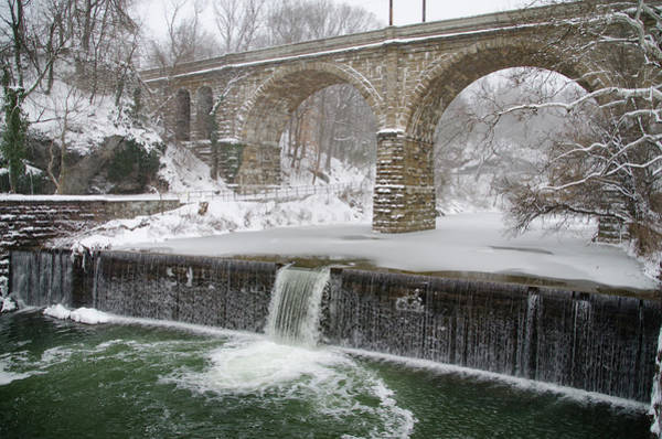Wall Art - Photograph - Winter Wonderland Along The Wissahickon Creek by Bill Cannon