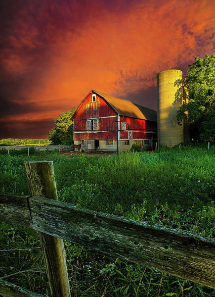 Photograph - Wisconsin Life by Phil Koch