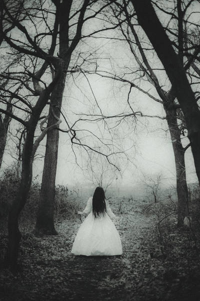 Bride Photograph - Witch by Art of Invi