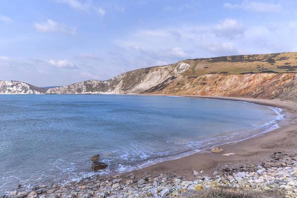 Channel Isles Photograph - Wolbarrow Bay - England by Joana Kruse