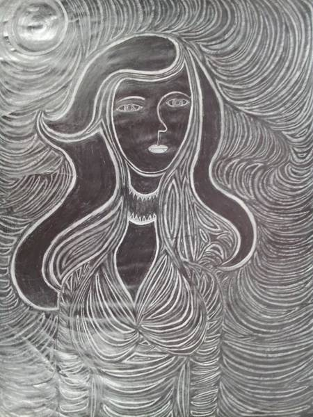 Spontaneous Drawing - Woman 3 by William Douglas