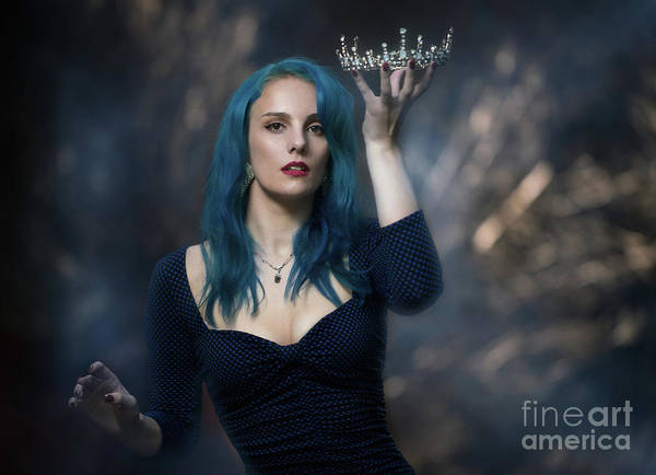 Wall Art - Photograph - Woman Holding Her Crown by Amanda Elwell