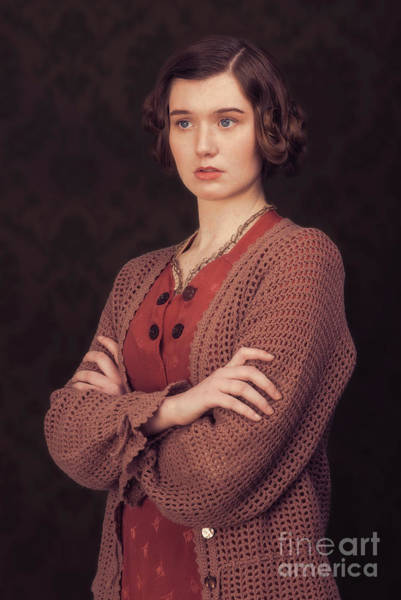 Cosplay Photograph - Woman In Period Costume by Amanda Elwell