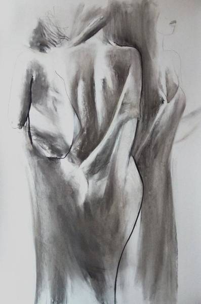 Drawing - Women  by Alina Louka