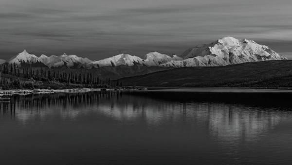 Photograph - Wonder Lake Denali National Park by Brenda Jacobs