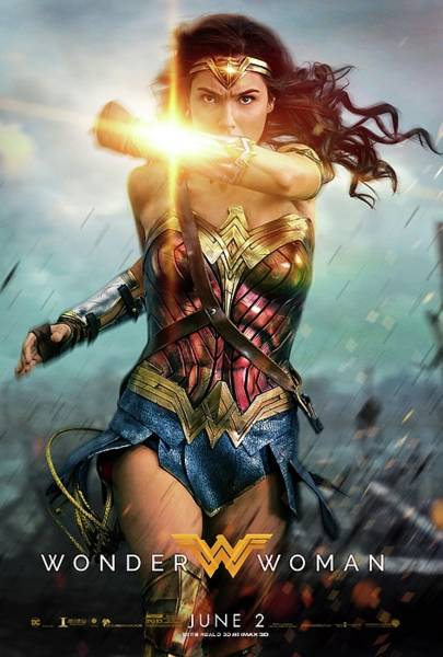 Wall Art - Digital Art - Wonder Woman by Geek N Rock