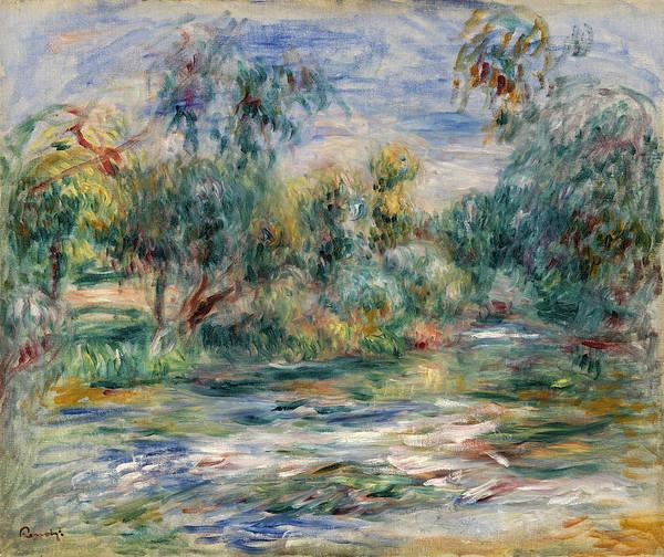 Wall Art - Painting - Wood by Pierre-Auguste Renoir