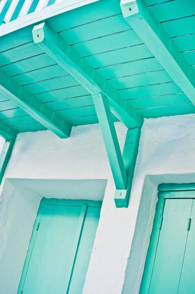 Wall Art - Photograph - Wooden Balcony by Tom Gowanlock