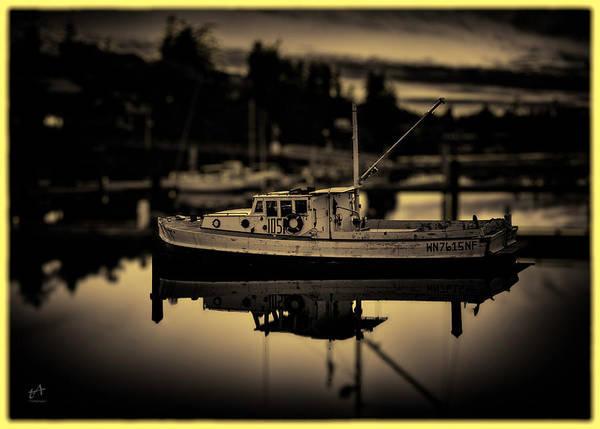 Black Friday Wall Art - Photograph - Wooden Boat by Thomas Ashcraft