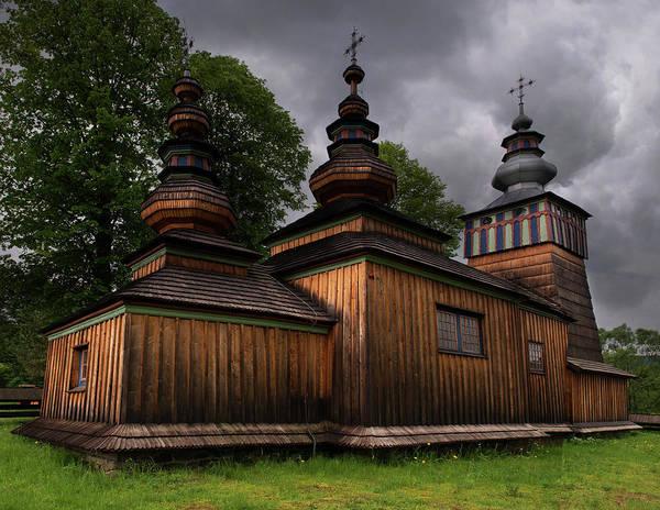 Wall Art - Photograph - Wooden Church In Swiatkowa Mala by Jaroslaw Blaminsky