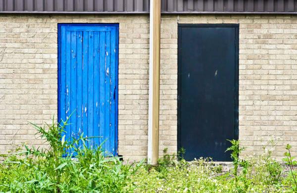 Aspect Wall Art - Photograph - Wooden Doors by Tom Gowanlock