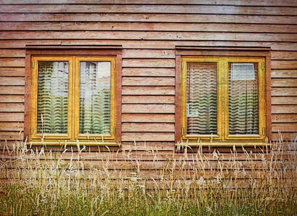 Chalet Wall Art - Photograph - Wooden Hut by Tom Gowanlock