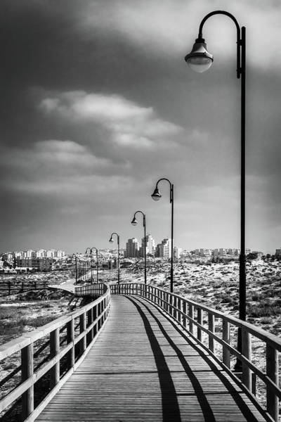 Photograph - Wooden Walkway by Gary Gillette