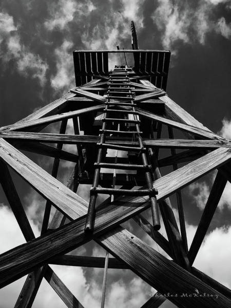 Photograph - Wooden Windmill by Charles McKelroy