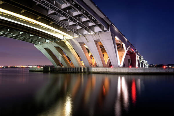 Photograph - Woodrow Wilson Bridge by Ryan Wyckoff