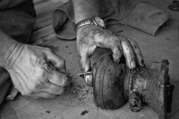 Photograph - Working Hands by Cricket Hackmann