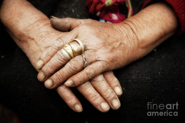 Photograph - Working Hands by Scott Kemper