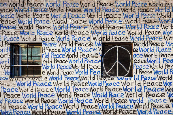 Photograph - World Peace by Jim West