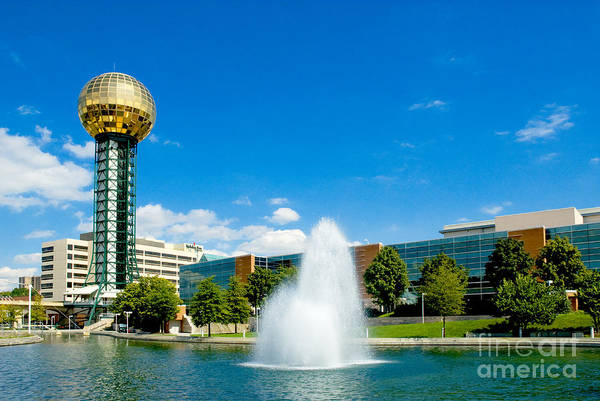 Wall Art - Photograph - Worlds Fair Park In Knoxville  by Paul W Faust - Impressions of Light