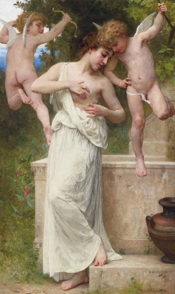 Painting - Wounds Of Love by William-Adolphe Bouguereau
