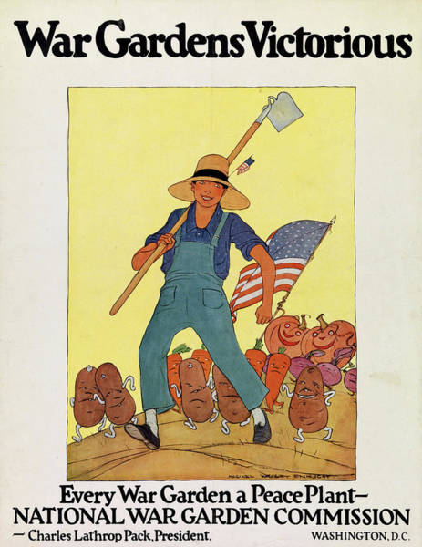 Painting - Wwi Poster by Granger