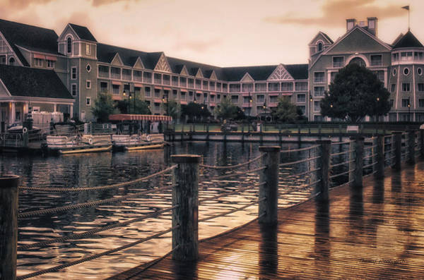 Wall Art - Photograph - Sunset At The Yacht And Beach Club by Thomas Woolworth