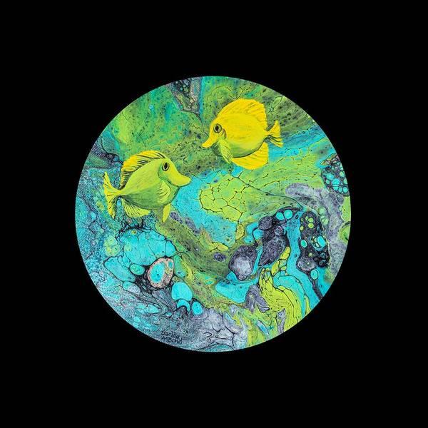 Painting - Yellow Tang by Darice Machel McGuire