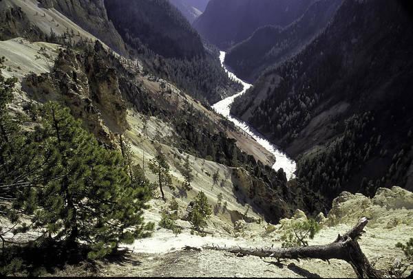 Photograph - Yellowstone Canyon by Jim Dollar