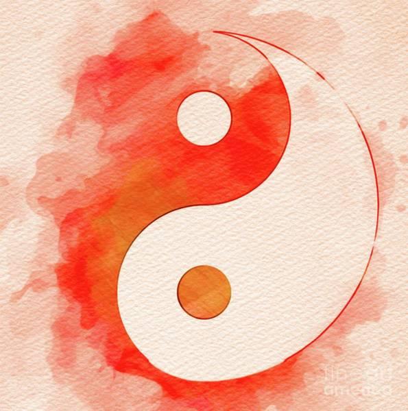 Belief Painting - Yin Yang by Pierre Blanchard