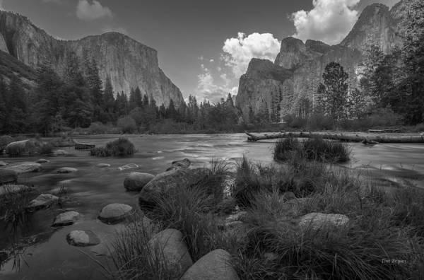 Photograph - Yosemite Evening by Tim Bryan