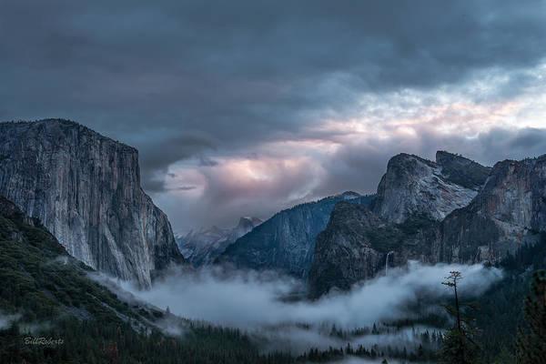 El Capitan Wall Art - Photograph - Yosemite In Clouds by Bill Roberts