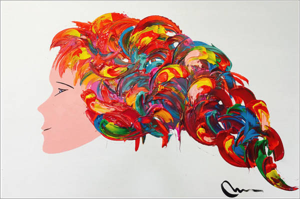 Wall Art - Painting - Young And Explosive by Mac Worthington
