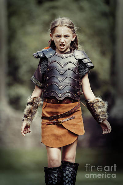 Game Of Thrones Photograph - Young Warrior by Amanda Elwell