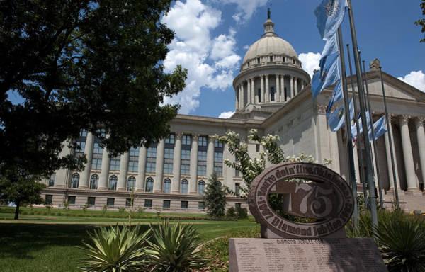 Capitol Building Photograph - You're Doin Fine Oklahoma by Ricky Barnard