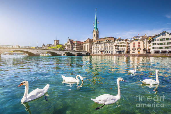 Zuerich Wall Art - Photograph - Zurich by JR Photography