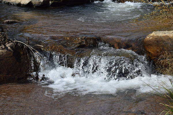 Photograph - Waterfall Westcliffe Co by Margarethe Binkley