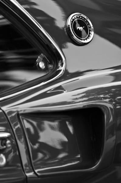 Photograph - 1969 Ford Mustang Mach 1 Emblem by Jill Reger
