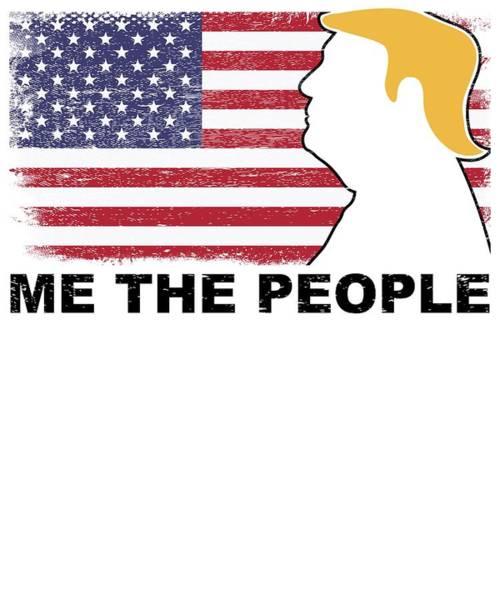Midterm Wall Art - Digital Art - Anti Trump Impeach The President Vote For Dems Light by Nikita Goel